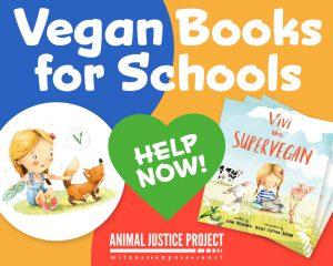 Vegan Books for Scheools
